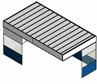 Потолочный пленум с шторками и стенами (кабина) NORDBERG - фото 57212