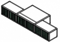 Блоки диагональной вытяжки (3 предмета) NORDBERG - фото 57216