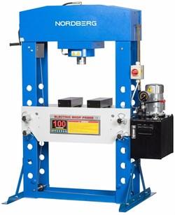 Пресс напольный электрогидравлический NORDBERG n36100е  - фото 57281
