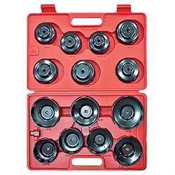 Набор съёмников масляных фильтров 15 предметов мастак 103-40015C MACTAK - фото 57492