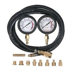 Манометр для измерения давления масла, два манометра, 0-7 и 0-20 бар мастак 120-20028 MACTAK - фото 57496