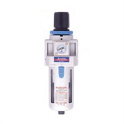 Фильтр-регулятор, размер соединения 3/8 дюйма, производительность 1350 л/мин, давление 0,5-10 бар мастак 691-3 MACTAK - фото 57525