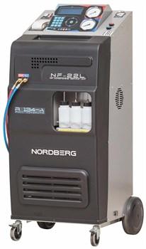 Автоматическая установка для заправки автомобильных кондиционеров, 22 л Nordberg NF22L - фото 57566