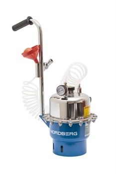 Установка пневматическая для прокачки тормозной системы и системы сцепления, объем 6 л. Nordberg BC5 - фото 57575
