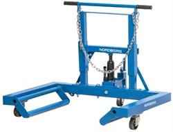 Тележка гидравлическая для снятия/установки колёс г/п 680 кг NORDBERG N31007 - фото 57716