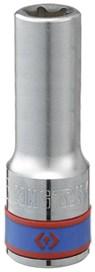 "Kingtony головка TORX 427516M торцевая e-стандарт 1/2"" е16 l=77мм - фото 57751"