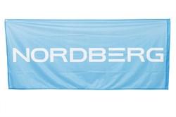 Флаг односторонний с флагштоком 0,85*2м NORDBERG - фото 60981