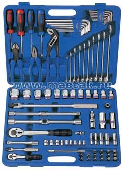 Набор инструментов универсальный, дюймовый, 85 предметов KING TONY 7085SR