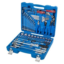 Набор инструментов универсальный, дюймовый, 87 предметов KING TONY 7587SR01 - фото 64525