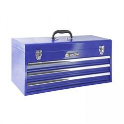 Ящик инструментальный, 3 полки, синий МАСТАК 511-03530B - фото 64542