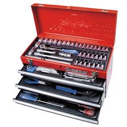 Набор инструментов универсальный, выдвижной ящик, 73 предмета KING TONY 901-073MR - фото 64577