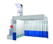 Пост подготовки к окраске с подогревом NB100C к окраске с креплением к потолку (с горелкой) NORDBERG