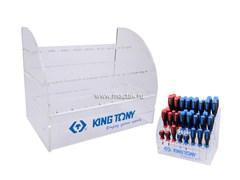 Стенд для отвёрток пластик KINGTONY 87104