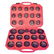 Набор съемников масляных фильтров крышек 30 предметов мастак 103-40030C MACTAK