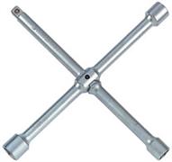 Ключ баллонный колесный крестообразный 1/2, 17, 19, 21 мм, разборный king tony 19961721