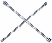 Ключ балонный колесный крестообразный,  24, 27, 32 мм 700 мм king tony 19932427