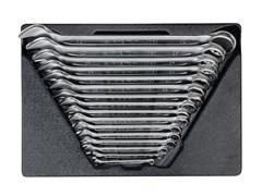 Набор комбинированных ключей, 16 предметов ложемент,  king tony 9-1216mr03