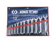 Набор рожковых ключей, 12 предметов king tony 1112mr