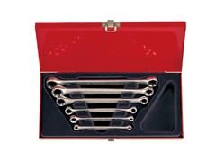 Набор накидных ключей, 6 предметов king tony 1406pr
