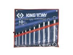 Набор накидных ключей,10 предметов king tony 1710mr