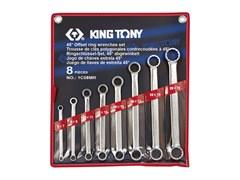 Набор накидных ключей,8 предметов king tony 1c08mr