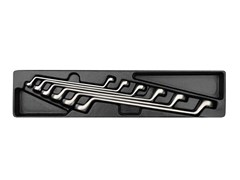 Набор накидных ключей, 6 предметов king tony 9-1716mr