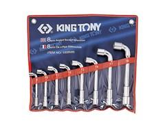 Набор торцевых L-образных ключей, 8 предметов king tony 1808mr