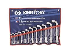 Набор торцевых L-образных ключей, 12 предметов king tony 1812mr