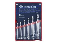 Набор торцевых ключей с шарниром, 6 предметов king tony 1a06mr