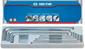 Набор Г-образных шестигранников 8 предметов KING TONY 20208SR01