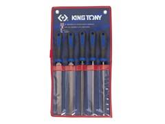 Набор напильников 200 мм, 5 предметов KING TONY 1005GQ