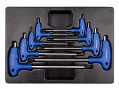 Набор L-образных шестигранных ключей, ложемент KING TONY 9-22108MR