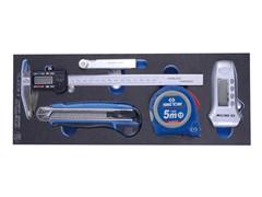 Набор измерительных инструментов, ложемент king tony 9-90305tqv