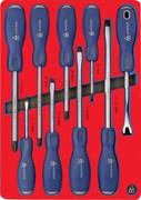 Набор отвёрток силовых, ложемент МАСТАК 5-4009D