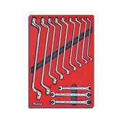 Набор накидных и разрезных ключей ложемент МАСТАК 5-23112