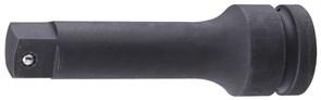 """KING TONY Удлинитель ударный 1"""", 250 мм, с шариковым фиксатором"""