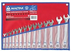 МАСТАК Набор комбинированных ключей, 6-32 мм, 26 предметов