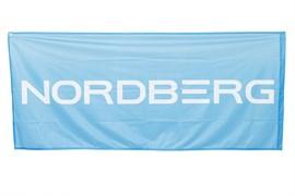 Флаг односторонний с флагштоком 0,85*2м NORDBERG