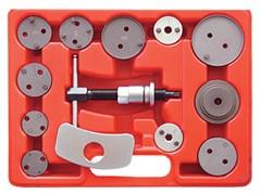 МАСТАК Приспособление для утапливания поршня тормозного цилиндра, кейс, 13 предметов