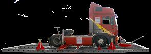 Стапель SIVER T для правки рам грузовых а/м и полуприцепов