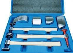 9cf107 комплект рихтовочных молотков и поддержек KINGTONY