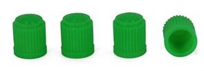 Колпачек пластмассовый зеленый, 100шт