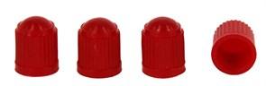 Колпачек пластмассовый красный, 100шт