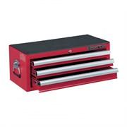 Ящик инструментальный, 3 ящика, красный KING TONY 87421-3B