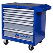 Тележка инструментальная, 5 ящиков, синяя МАСТАК 521-05581B