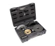 Набор оправок для монтажа и демонтажа ступичных подшипников, кейс, 16 предметов МАСТАК 100-30016C