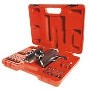 Ключ для гаек ступицы универсальный, 49-143 мм, кейс, 13 предметов МАСТАК 100-42013C
