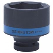 "Головка торцевая ударная шестигранная 1"", 95 мм KING TONY 853595M"