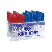 Подставка для отверток на 72 предмета KING TONY 87110