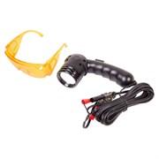 Фонарь ультрафиолетовый и очки для поиска утечек фреона МАСТАК 105-70000